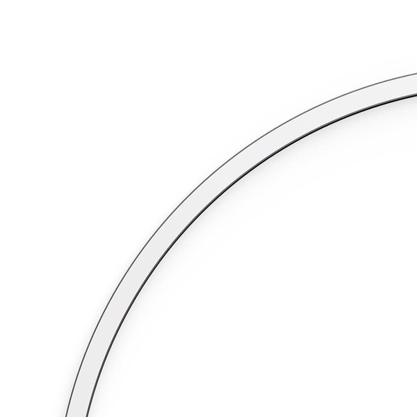 Artemide Architectural A.24 Curved Elements α = 45° r=750mm AR AQ62215 Silver