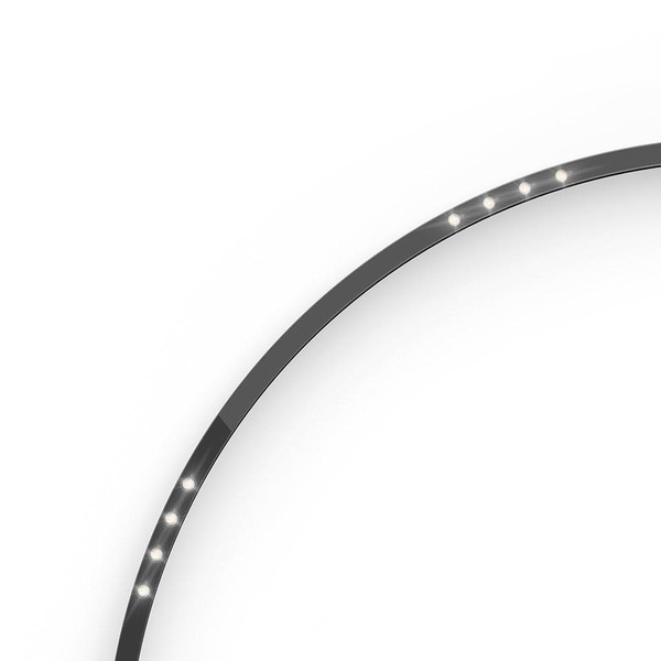 Artemide Architectural A.24 Curved Elements α = 90° F24° AR AQ63504 Black